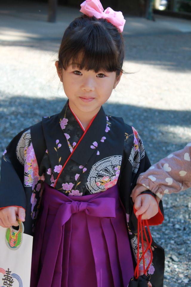 紫袴。めでたくおかあさんと意見が一致しました。