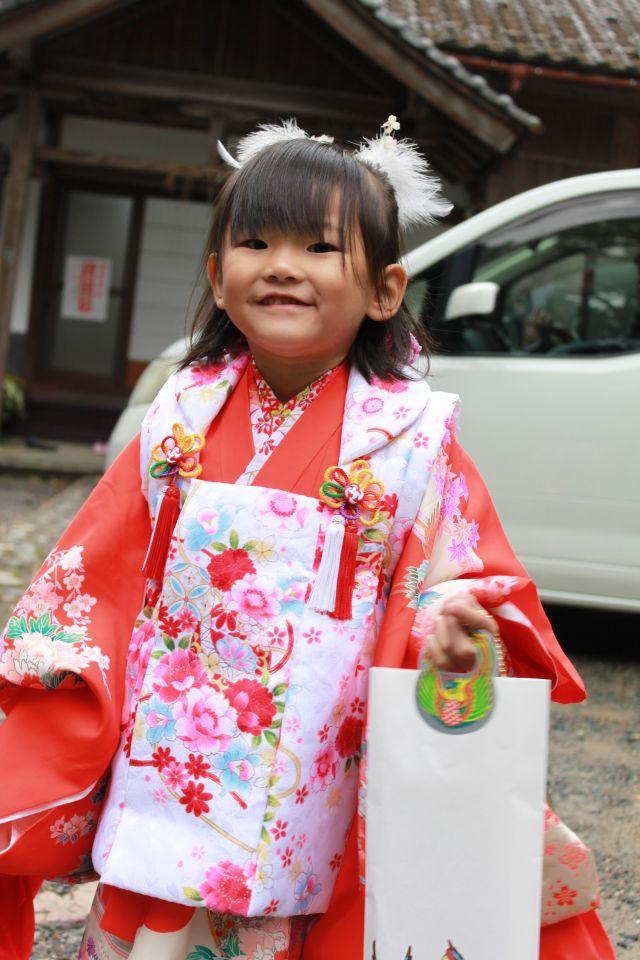 石川のじっちゃんばっちゃん、見てますか?あたしは3歳になりましたよー。
